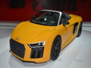 Audi R8 Spyder V10 tiếp tục sử dụng công nghệ mui vải mềm