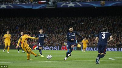Kết quả Barca vs Atletico - 3