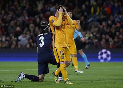 Kết quả Barca vs Atletico Madrid 2016 - 4
