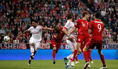 Video Bayern Munich vs Benfica - 1