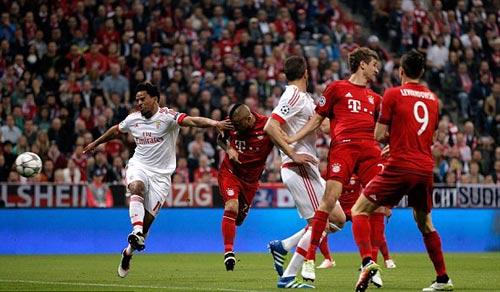 Video Bayern Munich vs Benfica - 1