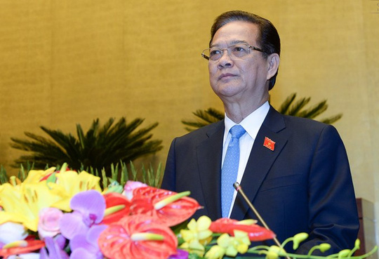 Chủ tịch nước đề nghị miễn nhiệm Thủ tướng Nguyễn Tấn Dũng - 2