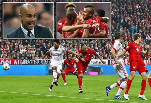 Bayern thắng tối thiểu, Guardiola vẫn hạnh phúc - 1