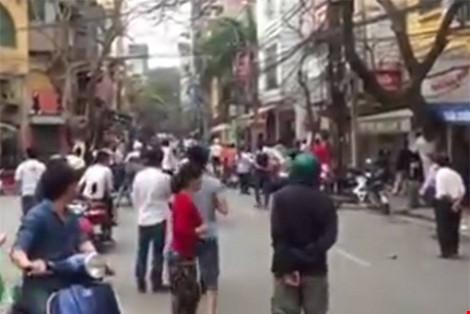 Vụ công an nổ súng giữa Thủ đô: Tạm giữ 1 đối tượng - 1