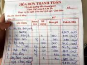 Tin tức trong ngày - Hạ Long: Choáng với hóa đơn một bữa ăn hơn 9 triệu đồng