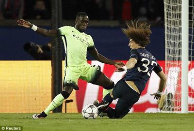 Chi tiết PSG - Man City: Aguero rời sân (KT) - 9