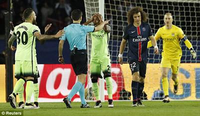 Chi tiết PSG - Man City: Aguero rời sân (KT) - 7