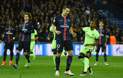 Video PSG vs Man City - 1