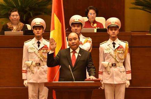 Ông Nguyễn Xuân Phúc nhâm chức thủ tướng - 1
