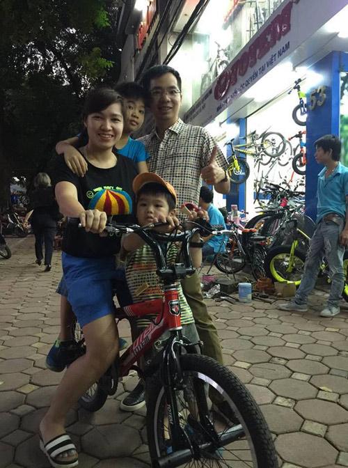 Dạy bé đạp xe: Bài học của con, hạnh phúc của cha mẹ - 2
