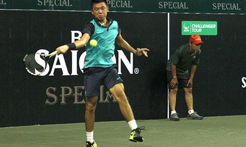 """Hoàng Nam đụng """"hàng cứng"""" giải 8 tay vợt trẻ hay nhất - 1"""