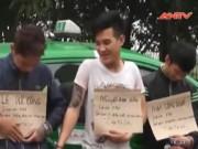 Video An ninh - 3 tên cướp taxi cười đùa kể lại hành vi phạm tội