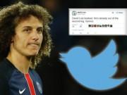 """Bóng đá - """"Đóng kịch"""" xấu xí, David Luiz bị """"ném đá"""" dữ dội"""