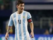 Bóng đá - Chốt lịch hầu tòa, Messi bỏ lỡ Copa America