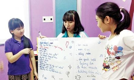 Lớp học dạy trẻ biết cảm ơn, xin lỗi ở Đà Nẵng - 1