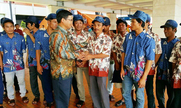 18 ngư dân Việt Nam bị bắt ở Indonesia được đưa về nước - 1