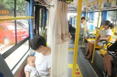 """Xe buýt có ghế dành riêng cho """"bà mẹ bỉm sữa"""" - 2"""