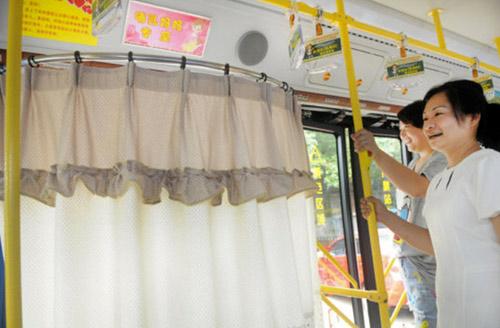 """Xe buýt có ghế dành riêng cho """"bà mẹ bỉm sữa"""" - 5"""
