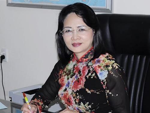Phó chủ tịch nước Việt Nam Đặng Thị Ngọc Thịnh nhậm chức - 1