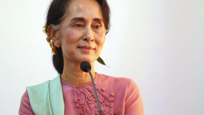 Bà Suu Ky sẽ thả toàn bộ tù nhân chính trị Myanmar - 1