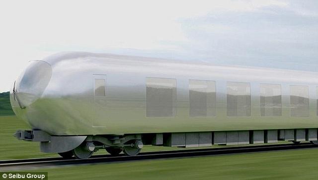"""Nhật chế tạo tàu hỏa """"tàng hình"""" đầu tiên trên thế giới - 1"""