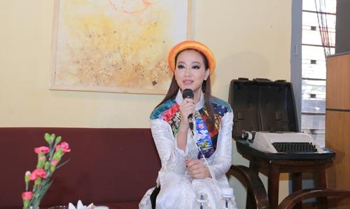 Maya, Đoan Trang điệu đà diện áo dài xưa ra mắt phim mới - 3