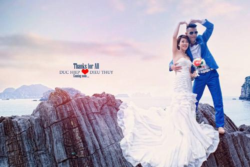 Ảnh cưới lãng mạn của Hiệp Gà với người vợ thứ 3 - 1