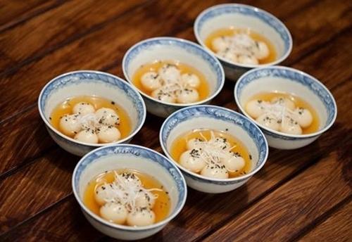 Bánh trôi nhân đậu xanh ngọt bùi vị Tết Hàn thực - 9