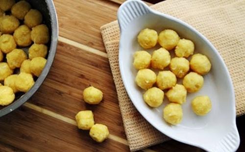 Bánh trôi nhân đậu xanh ngọt bùi vị Tết Hàn thực - 7