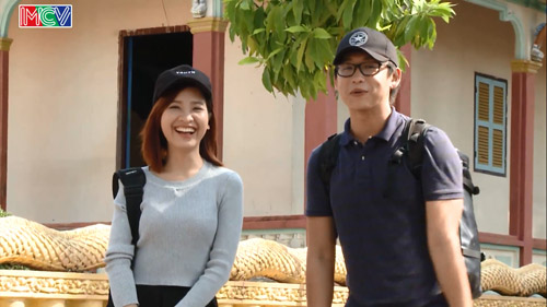 """Cặp đôi MC Quang Bảo – Kim Nhã """"hẹn hò"""" tại Trà Vinh - 1"""