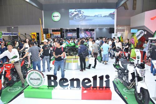 Benelli cùng lúc trưng bày đủ các dòng xe tại triển lãm mô tô, xe máy 2016 - 5