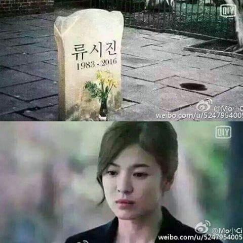 """Cảnh ngủ chung ngọt lịm của cặp đôi """"Hậu duệ mặt trời"""" - 3"""