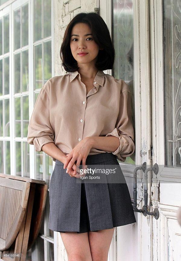 Hè này chỉ cần diện áo sơ mi xinh như Song Hye Kyo - 10