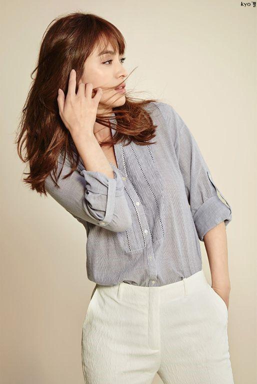 Hè này chỉ cần diện áo sơ mi xinh như Song Hye Kyo - 12
