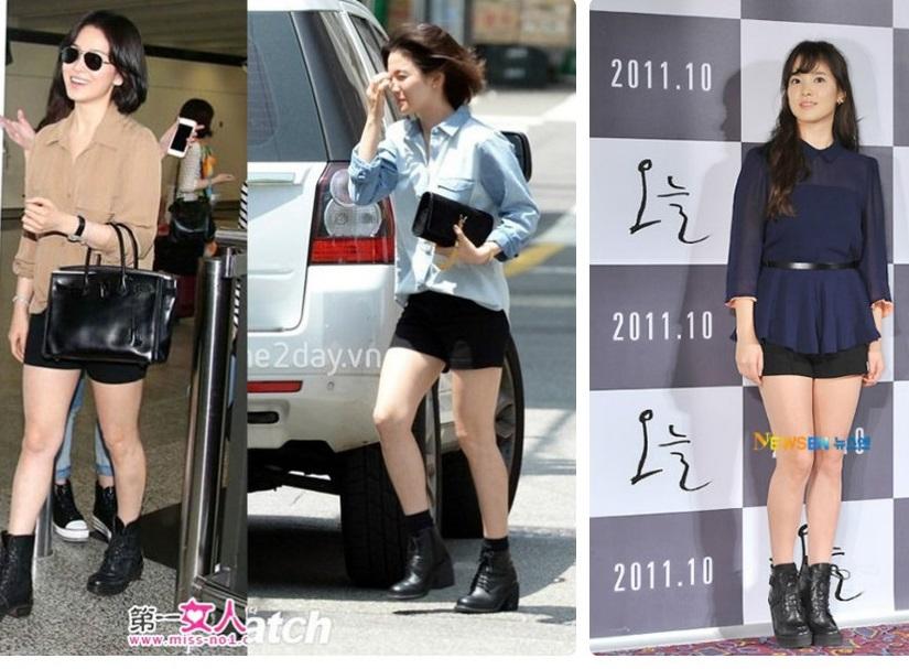 Hè này chỉ cần diện áo sơ mi xinh như Song Hye Kyo - 9