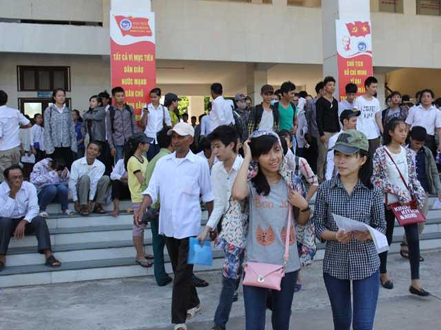40% học sinh Nghệ An không thi đại học - 1
