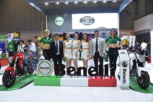 Benelli cùng lúc trưng bày đủ các dòng xe tại triển lãm mô tô, xe máy 2016 - 1
