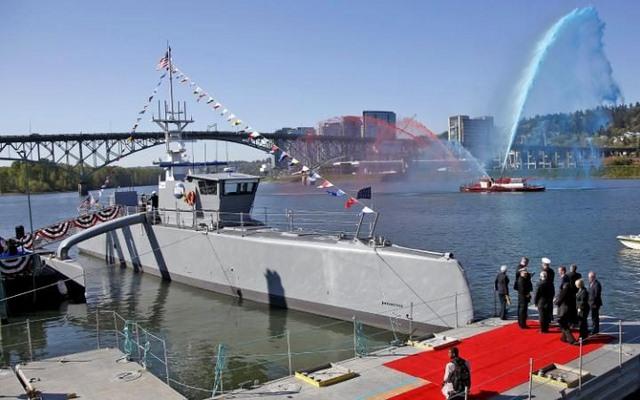 """Mỹ hạ thủy """"sát thủ diệt ngầm"""" tự điều khiển - 1"""