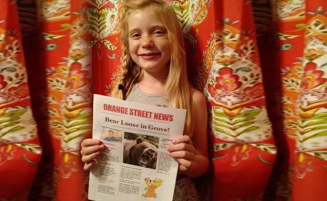 Cô bé 9 tuổi dũng cảm làm phóng viên điều tra - 1