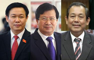 Thủ tướng đề cử 3 Phó Thủ tướng mới - 1