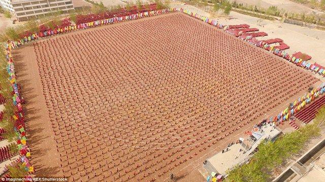 Màn trình diễn hoành tráng của 26.000 võ sinh kungfu TQ - 4