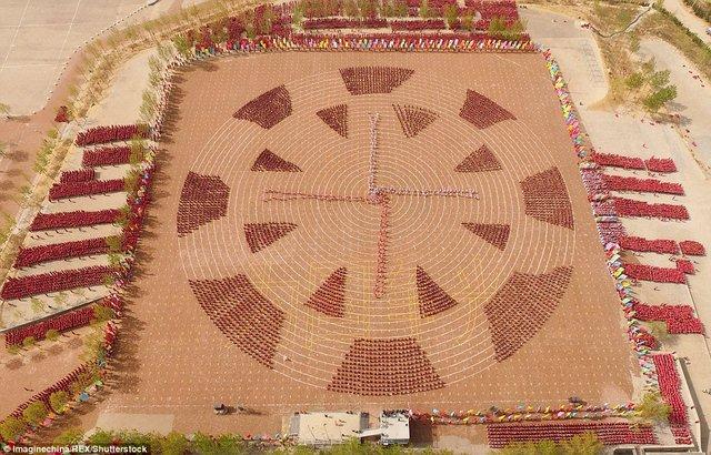 Màn trình diễn hoành tráng của 26.000 võ sinh kungfu TQ - 5