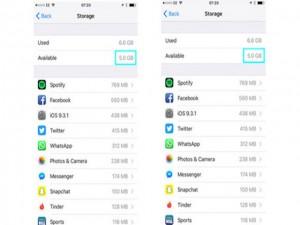 Công nghệ thông tin - Thao tác cực đơn giản giúp giải phóng bộ nhớ cho iPhone
