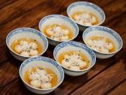 Ẩm thực - Bánh trôi nhân đậu xanh ngọt bùi vị Tết Hàn thực