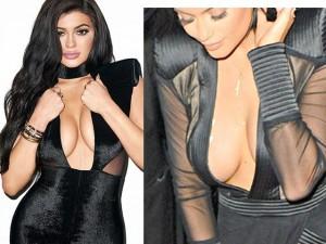 Hot girl Hollywood lộ chiêu dùng băng dính dán ngực