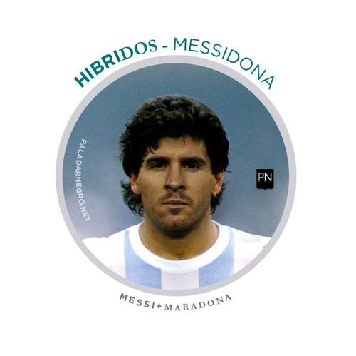 Khi Messi và Ronaldo dung hợp thành… Messinaldo - 3