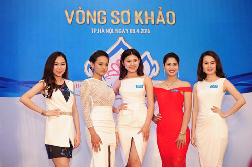 """Quỳnh Mai """"siêu vòng 3"""" tái xuất ở Hoa hậu Biển VN - 7"""