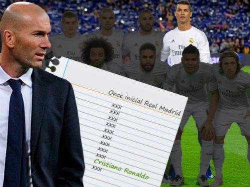Vì vua phá lưới, Zidane vẫn mạo hiểm với Ronaldo - 1