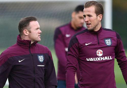 """Kane & Vardy chưa đủ tầm """"qua mặt"""" Rooney ở ĐT Anh - 1"""