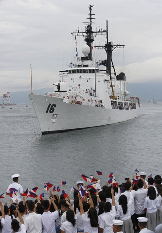 Biển Đông căng thẳng, Mỹ cấp tiền gấp đôi cho Philippines - 1